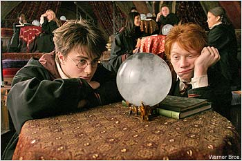 水晶球占卜方法时